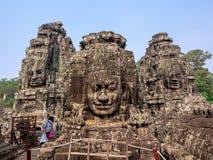 Ο ναός Bayon σε Angkor Wat σύνθετο, Siem συγκεντρώνει, Καμπότζη Στοκ φωτογραφίες με δικαίωμα ελεύθερης χρήσης