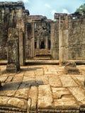 Ο ναός Bayon, Siem συγκεντρώνει Στοκ φωτογραφία με δικαίωμα ελεύθερης χρήσης