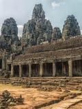 Ο ναός Bayon, Siem συγκεντρώνει Στοκ Φωτογραφίες