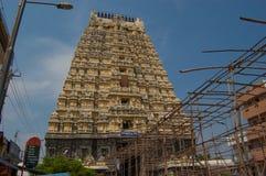 Ο ναός Ekambareswarar είναι ένας ινδός ναός Παλαιός ναός shiva Ekambam Kachi Μεγαλύτερος ναός στην πόλη Kanchipuram Στοκ φωτογραφίες με δικαίωμα ελεύθερης χρήσης