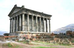 Ο ναός Garni είναι ελληνορωμαϊκός η οικοδόμηση κοντά σε Jerevan, Αρμενία Στοκ εικόνα με δικαίωμα ελεύθερης χρήσης