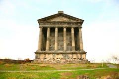 Ο ναός Garni είναι ελληνορωμαϊκός η οικοδόμηση κοντά σε Jerevan, Αρμενία Στοκ Εικόνες