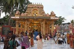 Ο ναός Gokarnanatheshwara, στο Kudroli, Mangalore σε Karnataka, Ινδία Στοκ Φωτογραφία