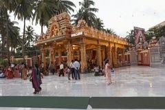 Ο ναός Gokarnanatheshwara, στο Kudroli, Mangalore σε Karnataka, Ινδία Στοκ Εικόνες
