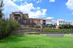 Ο ναός inca Coricancha σε Cusco, Περού στοκ εικόνες