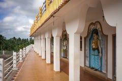 Ο ναός kandy-Vihara Στοκ φωτογραφία με δικαίωμα ελεύθερης χρήσης