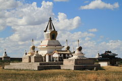 Ο ναός Karakorum Στοκ εικόνα με δικαίωμα ελεύθερης χρήσης