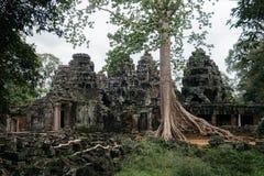 Ο ναός kdei Banteay σε Angkor, Siem συγκεντρώνει, Καμπότζη Στοκ Εικόνα