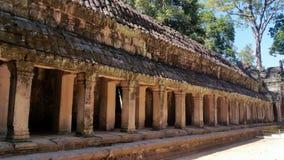 Ο ναός Khan Preah, Angkor, Siem συγκεντρώνει Στοκ φωτογραφία με δικαίωμα ελεύθερης χρήσης