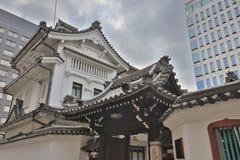 ο ναός Mitsutera σε Shinsaibashi Οζάκα Ιαπωνία Στοκ φωτογραφία με δικαίωμα ελεύθερης χρήσης