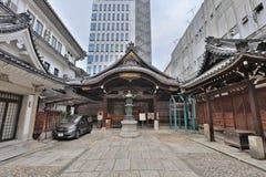 ο ναός Mitsutera σε Shinsaibashi Οζάκα Ιαπωνία Στοκ Εικόνες