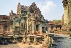 Ο ναός Samre Banteay σύνθετος σε Angkor Siem συγκεντρώνει την Καμπότζη στοκ φωτογραφία με δικαίωμα ελεύθερης χρήσης
