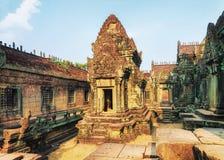 Ο ναός Samre Banteay σύνθετος σε Angkor Siem συγκεντρώνει στοκ εικόνες