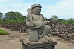 Ο ναός Sewu είναι ο δεύτερος - μεγαλύτερος βουδιστικός ναός σύνθετος στην Ιάβα στοκ φωτογραφία με δικαίωμα ελεύθερης χρήσης