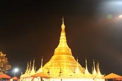 Ο ναός Shwedagon μιμείται στοκ φωτογραφίες