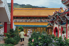 Ο ναός Si Kek Lok είναι ένας βουδιστικός ναός σε Penang, και είναι ένας από τους πιό γνωστούς ναούς στο νησί Στοκ εικόνες με δικαίωμα ελεύθερης χρήσης