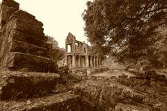 Ο ναός Siem Kahn Preah συγκεντρώνει, Angkor Wat, Καμπότζη Στοκ εικόνες με δικαίωμα ελεύθερης χρήσης