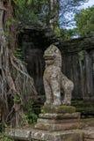 Ο ναός Siem Kahn Preah συγκεντρώνει, Angkor Wat, Καμπότζη Στοκ φωτογραφία με δικαίωμα ελεύθερης χρήσης