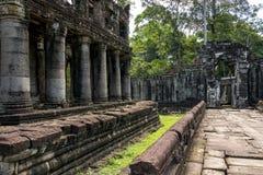 Ο ναός Siem Khan Preah συγκεντρώνει, Angkor Wat, Καμπότζη Στοκ εικόνες με δικαίωμα ελεύθερης χρήσης