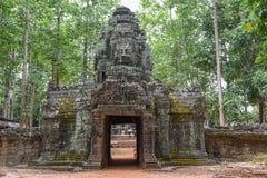 Ο ναός SOM TA σε Angkor σύνθετο σε Siem συγκεντρώνει στην Καμπότζη Στοκ Φωτογραφίες