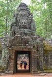 Ο ναός SOM TA σε Angkor σύνθετο σε Siem συγκεντρώνει στην Καμπότζη Στοκ φωτογραφία με δικαίωμα ελεύθερης χρήσης