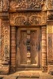 Ο ναός Srei Angkor Wat Banteay, Siem συγκεντρώνει, Καμπότζη Στοκ εικόνα με δικαίωμα ελεύθερης χρήσης