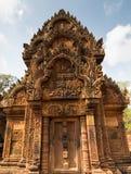 Ο ναός Srei Angkor Wat Banteay, Siem συγκεντρώνει, Καμπότζη Στοκ εικόνες με δικαίωμα ελεύθερης χρήσης