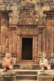 Ο ναός Srey Banteay, Angkor περιοχή, Siem συγκεντρώνει, Καμπότζη Στοκ φωτογραφίες με δικαίωμα ελεύθερης χρήσης