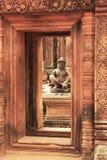 Ο ναός Srey Banteay, Angkor περιοχή, Siem συγκεντρώνει, Καμπότζη Στοκ Εικόνες
