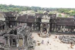 Ο ναός Wat Angkor σε Siem συγκεντρώνει, Καμπότζη Στοκ Εικόνες