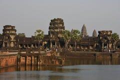 Ο ναός Wat Angkor σε Siem συγκεντρώνει, Καμπότζη Στοκ εικόνες με δικαίωμα ελεύθερης χρήσης