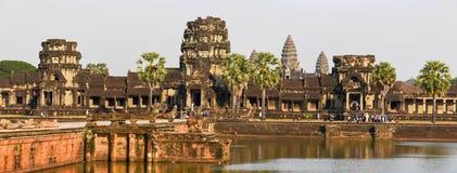 Ο ναός Wat Angkor σε Siem συγκεντρώνει, Καμπότζη Στοκ φωτογραφία με δικαίωμα ελεύθερης χρήσης