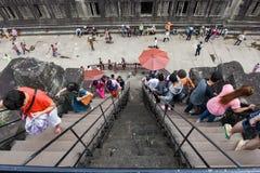 Ο ναός Wat Angkor σε Siem συγκεντρώνει στην Καμπότζη Στοκ φωτογραφία με δικαίωμα ελεύθερης χρήσης