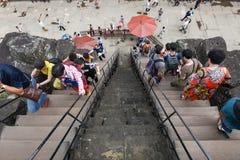 Ο ναός Wat Angkor σε Siem συγκεντρώνει στην Καμπότζη Στοκ Φωτογραφία