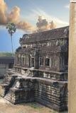 Ο ναός Wat Angkor, Siem συγκεντρώνει, Καμπότζη Στοκ φωτογραφίες με δικαίωμα ελεύθερης χρήσης