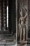 Ο ναός Wat Angkor, Siem συγκεντρώνει, Καμπότζη Στοκ εικόνα με δικαίωμα ελεύθερης χρήσης