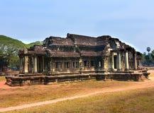 Ο ναός Wat Angkor, Siem συγκεντρώνει Στοκ εικόνα με δικαίωμα ελεύθερης χρήσης