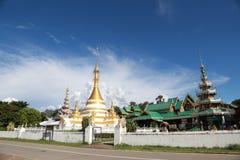 Ο ναός watjongklang στο γιο Mueang Mae Hong στοκ φωτογραφίες με δικαίωμα ελεύθερης χρήσης