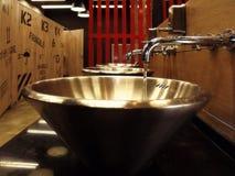 Ο νεροχύτης τουαλετών Στοκ Εικόνα