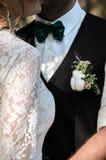 Ο νεόνυμφος και η νύφη στοκ φωτογραφία με δικαίωμα ελεύθερης χρήσης