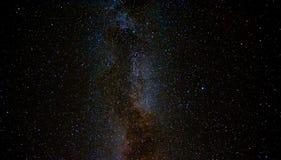 Ο νυχτερινός ουρανός στοκ φωτογραφία
