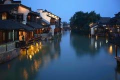 Ο νότος του χαμηλότερου φθάνει του ποταμού Yangtze Στοκ Εικόνα