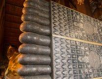 Ο ξαπλώνοντας Βούδας σε Wat Po Ταϊλάνδη Στοκ Φωτογραφία