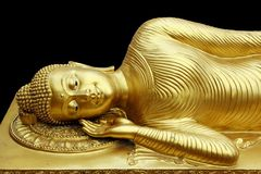 Ο ξαπλώνοντας Βούδας Στοκ Εικόνες