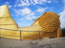 Ο ξαπλώνοντας Βούδας, ταξίδι στην Ταϊλάνδη Στοκ Εικόνες