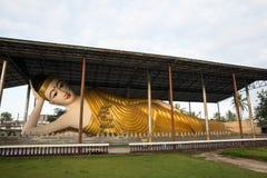 Ο ξαπλώνοντας Βούδας το πρωί Στοκ Εικόνες