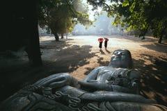 Ο ξεχασμένος Βούδας στοκ φωτογραφίες
