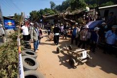 Ο ξύλινος αγώνας κάρρων. στοκ φωτογραφίες με δικαίωμα ελεύθερης χρήσης