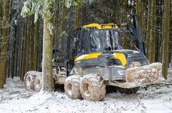 Ο ξύλινος φορτωτής Στοκ φωτογραφίες με δικαίωμα ελεύθερης χρήσης