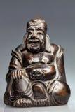 Ο ξύλινος Βούδας από το Βιετνάμ Στοκ φωτογραφία με δικαίωμα ελεύθερης χρήσης